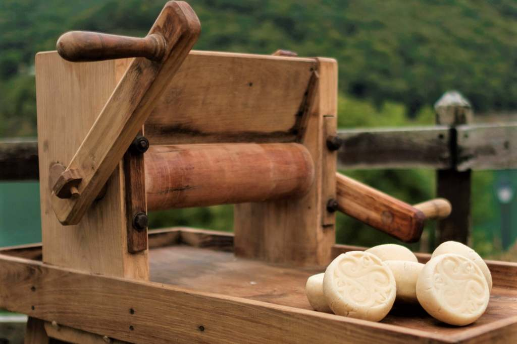 Maquina de rabilar queso Casín