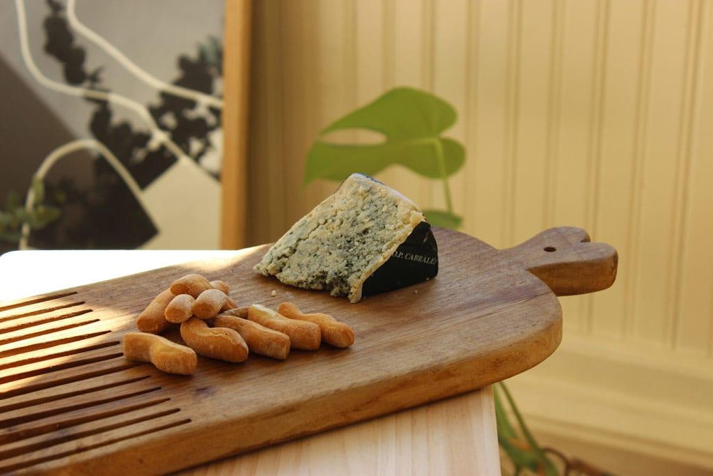 Tabla de Queso Cabrales, el queso más representativo de los Picos de Europa