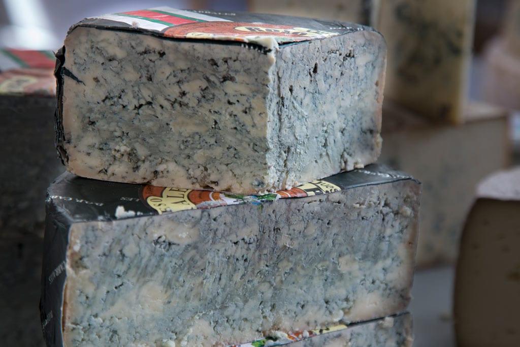 El queso Cabrales.