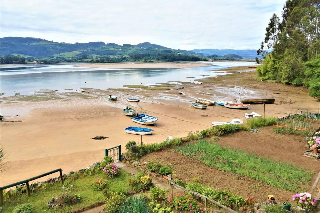 La Ría de Villaviciosa, Asturias