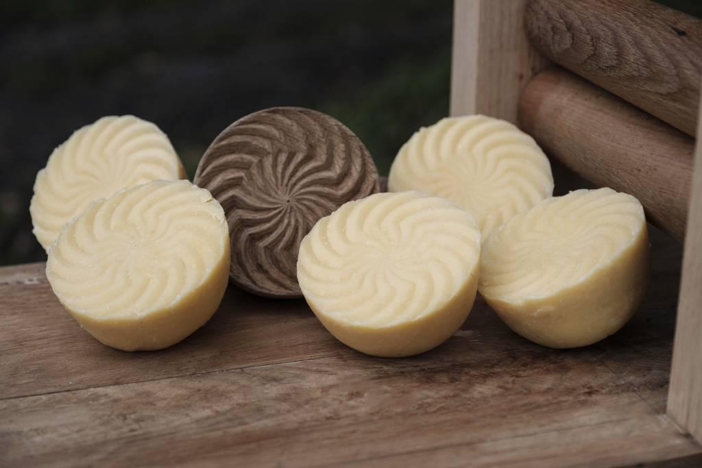 Sello madera distintivo queso Casín