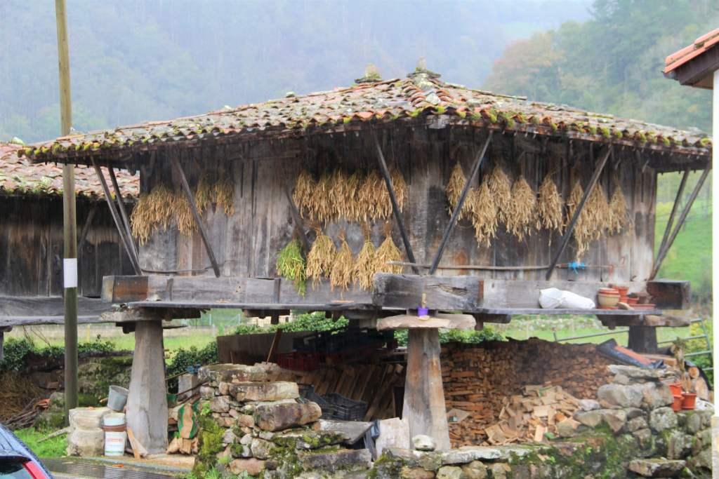 El horreo en Asturias