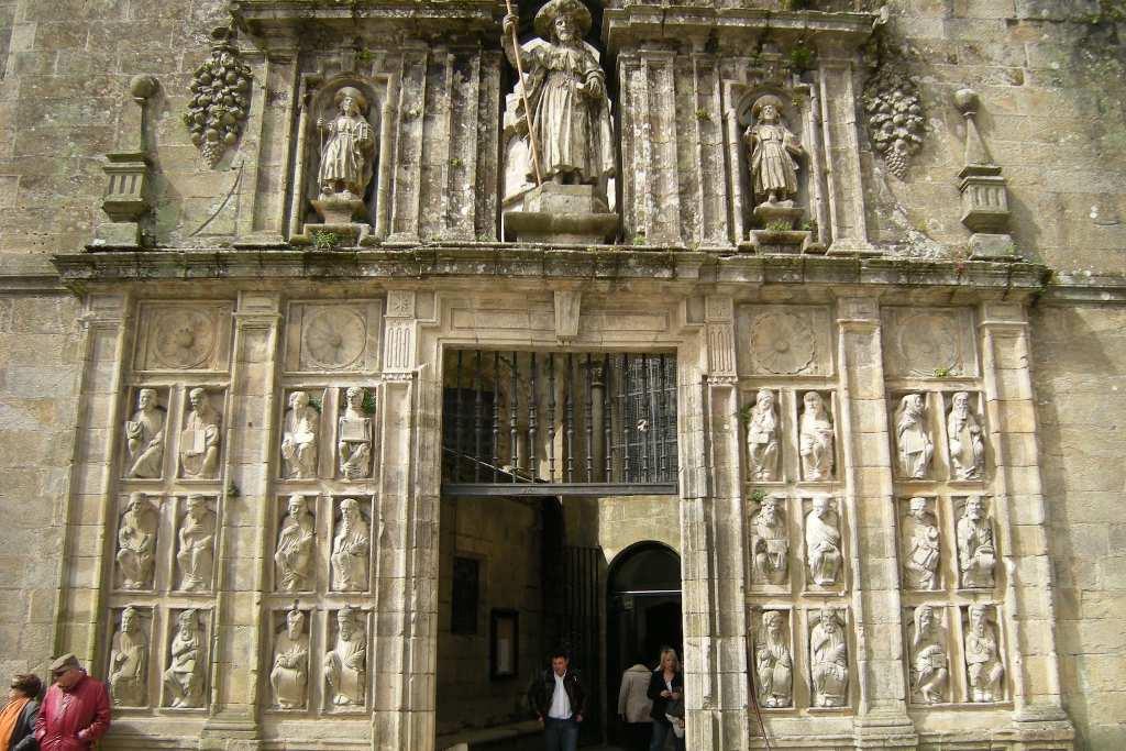 Puerta Santa en el Año Santo Compostelano 2022