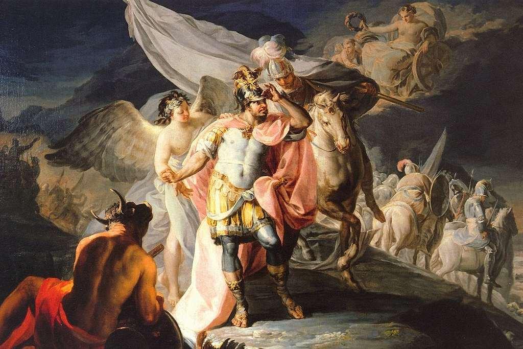 Cuadro de Goya en el Palacio de los Selgas