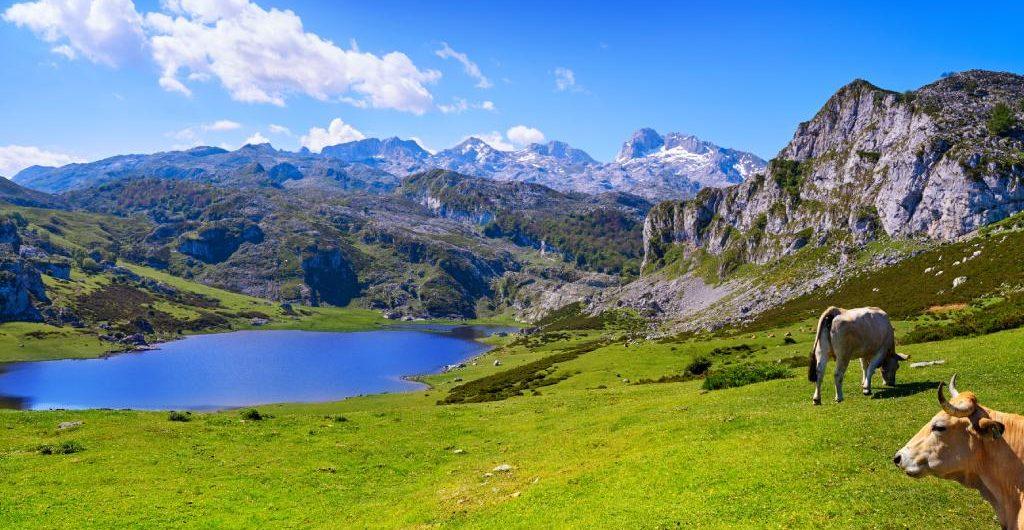 Lagos de Covadonga en Cangas de Onís